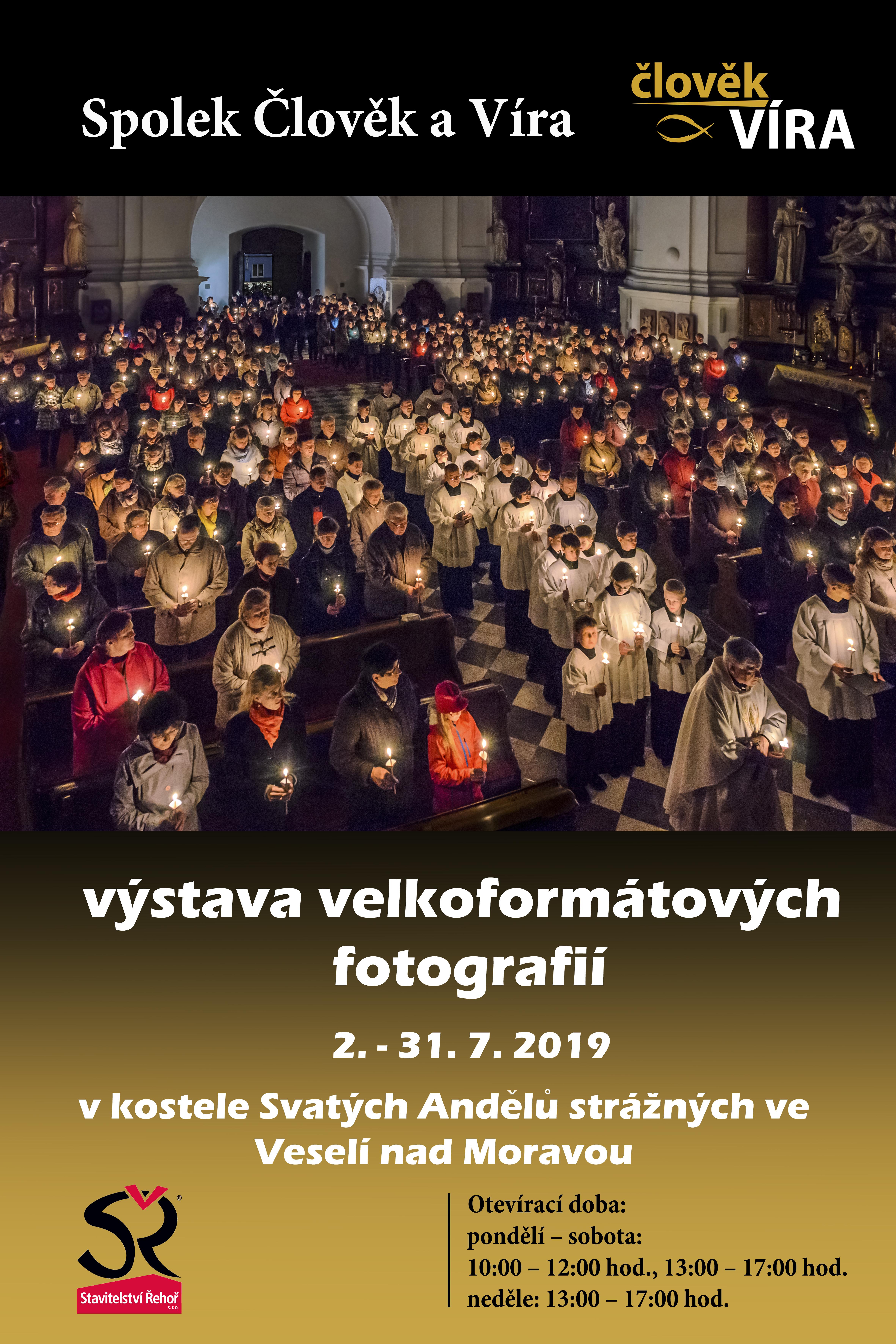 Plakát výstava 2019 Veselí